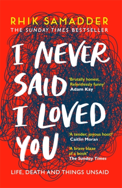 jacket for I Never Said I Loved You - image of a brain-shaped scribble, lighter on one side, thick and deeply tangled on the other