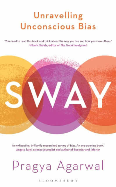 jacket for Sway - image is of three blurring, overlapping ven diagram-style circles