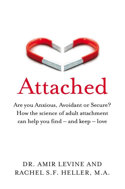 jacket for Attached - features two magnets, each half a heart shape, perhaps touching perhaps not