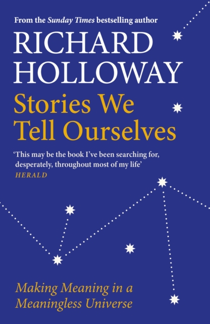 jacket for Stories We Tell Ourselves - features a drawing of stars, joined by dotted lines