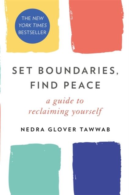 jacket for Set Boundaries Find Peace - features four squares, with slightly soft edges, but clearly separated from each other